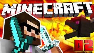 TO SI ZE MĚ DĚLÁTE...!!! | Minecraft Hardcore #02