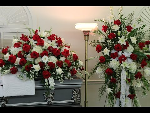 Check out this #beautiful #floral arrangement: Always ...  |Casket Flowers