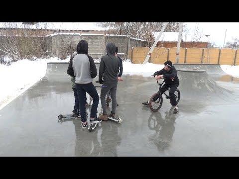 В Лосино-Петровском открыли долгожданную скейт-площадку
