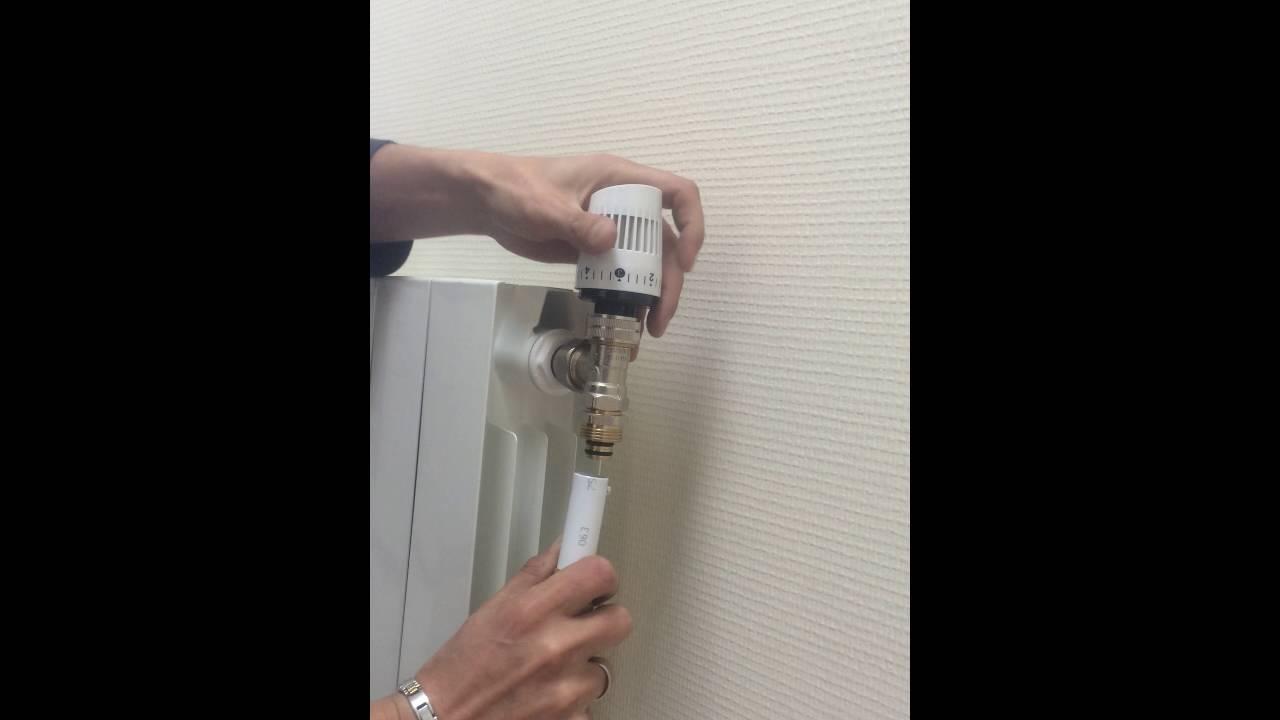 Montage Radiateur En Tube Multicouche