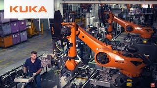 BMW Aseguramiento de la Calidad el Uso de Grandes Robots que Trabajan de forma Segura al Lado de la Gente