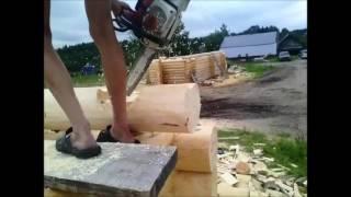 видео срубы бань в Пскове