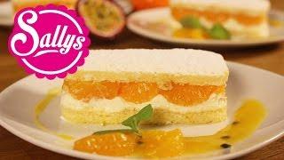 Käse-Sahne-Dessert mit Maracuja-Fruchtspiegel / Murat hat eine Stimme!