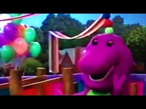 Isiah Smith's favorite part from Barney the exercise circus