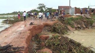 Tin Bão Mới Nhất 07/11/2017 : Bình Định khẩn trương khắc phục bão số 12
