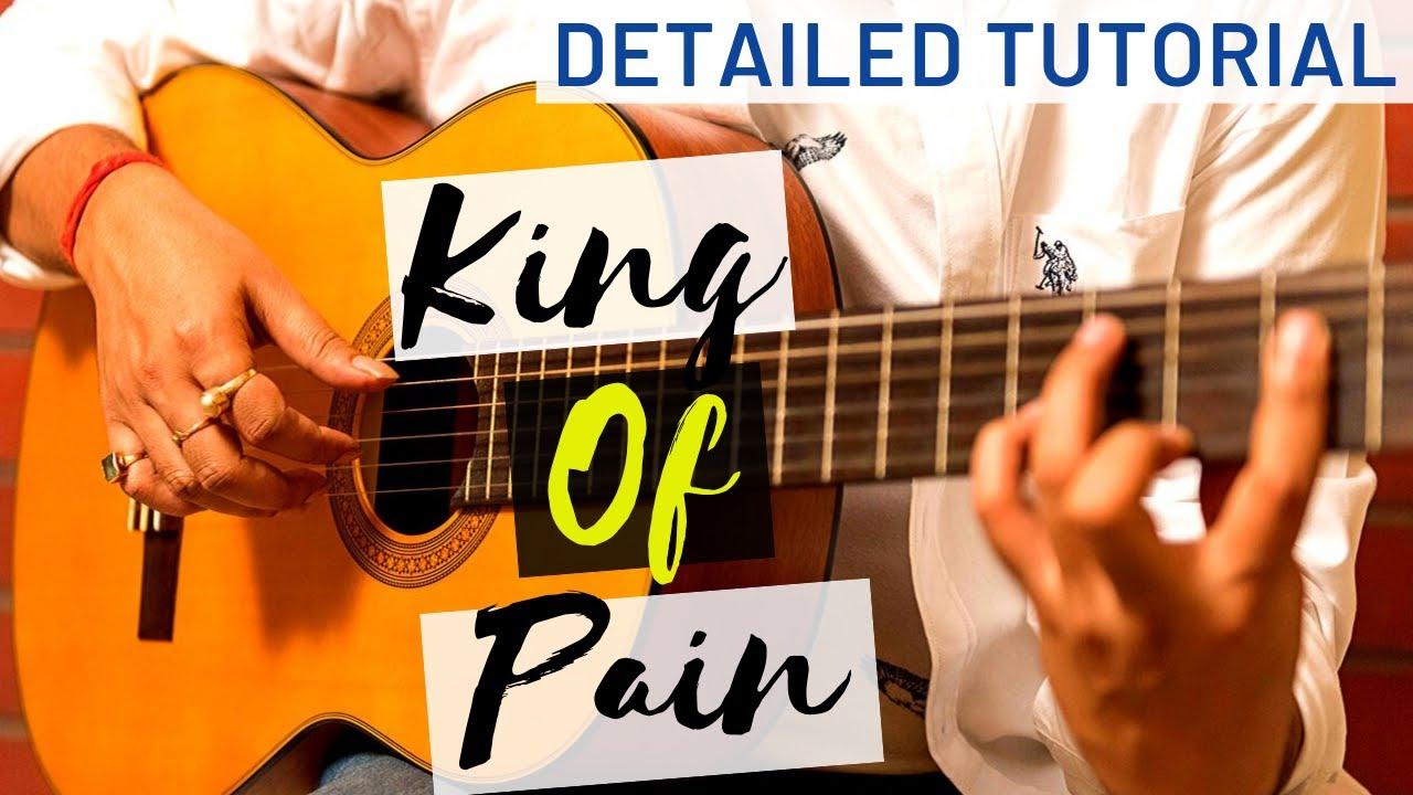 King of pain Alanis Morisette guitar tutorial   Unplugged   Detailed  Breakdown fingerstyle
