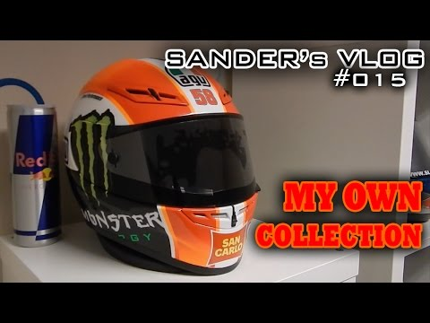 My Own Helmet Collection - Sander's Vlog 015