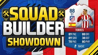 FIFA 17 SQUAD BUILDER SHOWDOWN!!! LEGENDARY FERNANDO TORRES!!! FUT Birthday Fifa 12 iMOTM Torres
