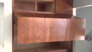 Wet Bar Cabinet Installation