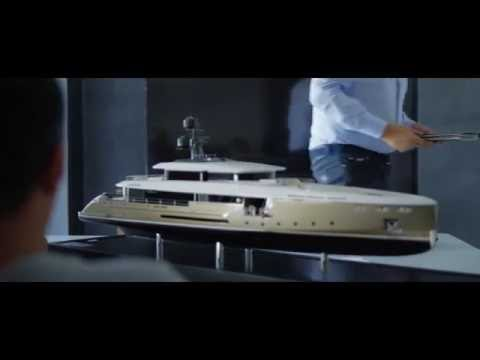 Model Maker Group - Behind the scenes: how fine scale model yachts are built