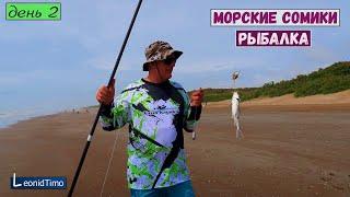 Морская Рыбалка с берега на Морского Сомика Аргентина