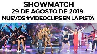 showmatch-programa-29-08-19-nuevos-videoclips-en-la-pista