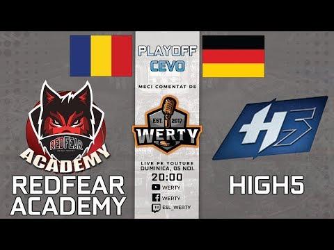 (RO CS:GO) REDFEAR ACADEMY (RO) vs. HIGH5 (GER) - PLAYOFF CEVO