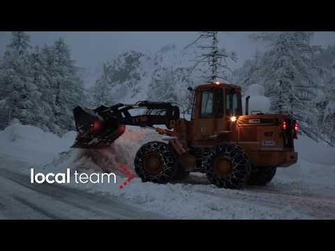 Maltempo, emergenza neve: isolata Cervinia