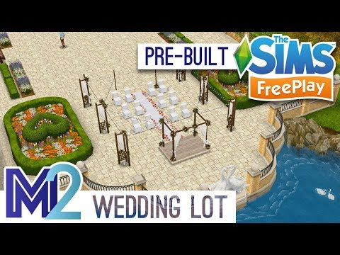 Sims FreePlay - Wedding Ceremony & Reception (Pre-Built Template)