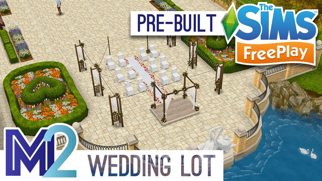 Sims FreePlay - Wedding Ceremony & Reception (Pre-Built Template ...