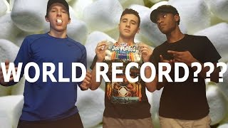 CHUBBY BUNNY CHALLENGE WORLD RECORD???