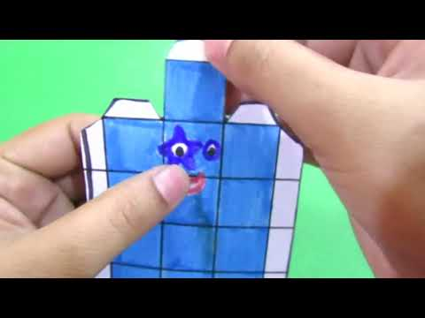 learn-to-make-3d-numberblock-5-by-folding-and-coloring-square--numberblock-5---abc-tube-tv