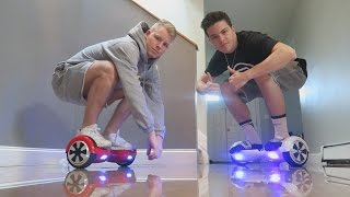 HOVERBOARD FUN AT THE FAZE HOUSE!