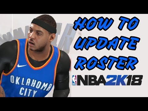 How To Update Roster In NBA 2K18