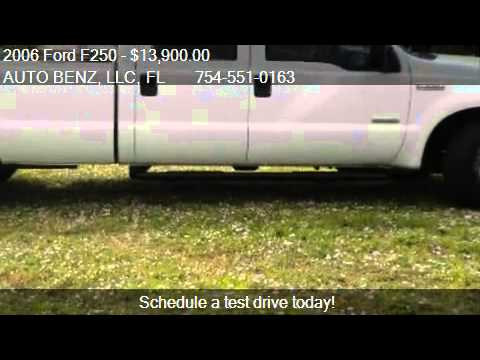2006 Ford F250 XL Crew Cab Long Bed  DIESEL - for sale in Fo