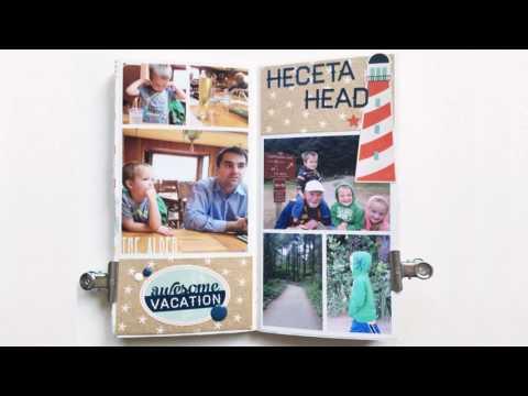 Oregon Midori Traveler's Notebook Flip Through by Holly