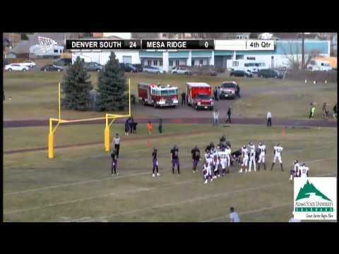 2012 CHSAA 4A Football State Semifinal - Denver South at Mesa Ridge