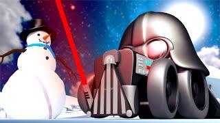Speciál Hvězdné Války - Z Bena je Darth Vader - Tomova Autolakovna ve Městě Aut 🎨 Animáky pro děti