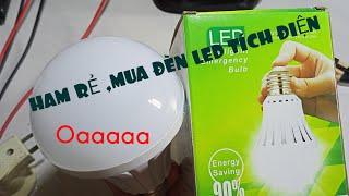 Ham rẻ thử mua đèn tích điện thông minh trên Sendo