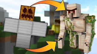 SKYWARS'DA IRON GOLEM YAPILIR MI?! - Minecraft SKYWARS