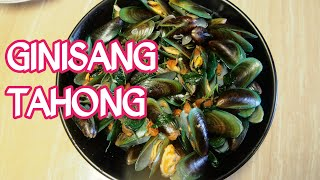 how to cook mussels with neem leaves   GINISANG TAHONG NA MAY DAHON NG SILI