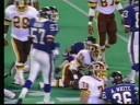 Giants v 'Skins 1988 - Jim Burt TD