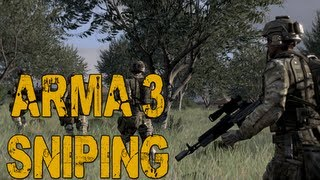 ARMA 3 Sniper Gameplay: Wasteland Multiplayer (Alpha)