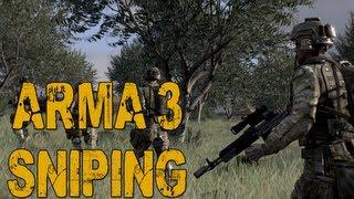 ARMA 3 Sniper Gameplay: Wasteland Multiplayer (Alpha)
