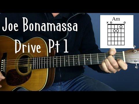 Joe Bonamassa  Drive  guitar Lesson  Joe Murphy
