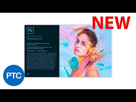 Photoshop CC 2018 Tutorials - What's NEW in Adobe Photoshop CC 2018 thumbnail