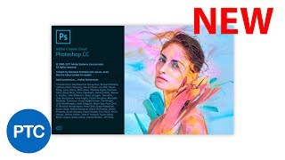 Photoshop CC 2018 Tutorials - What's NEW in Adobe Photoshop CC 2018