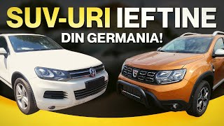 SUV-uri IEFTINE care merita cumparate din Germania !!!