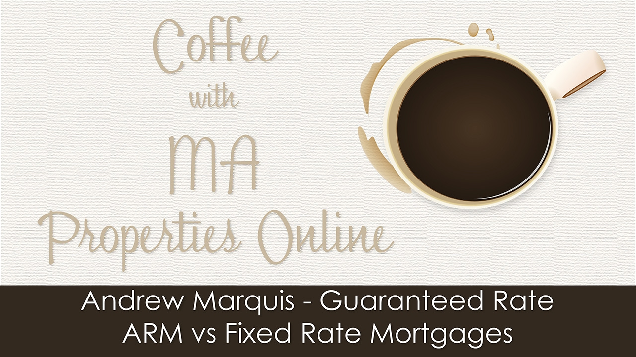 andrew marquis guaranteed rate arm vs fixed rate mortgage youtube