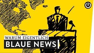 Warum sind Nachrichtensendungen blau? | WARUM EIGENTLICH?