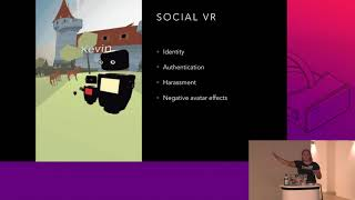Engineering for privacy in Mixed Reality - by Diane Hosfelt | Mozilla Developer Roadshow EU