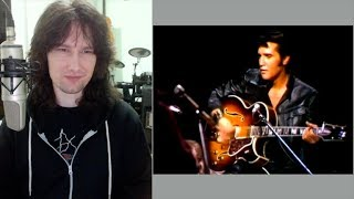 British guitarist analyses Elvis Presley's guitar playing. Could he play?