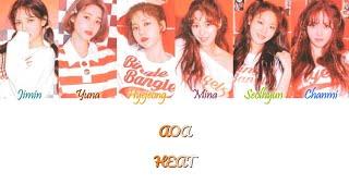 AOA (에이오에이) - HEAT Han/Rom/Eng Color Coded Lyrics