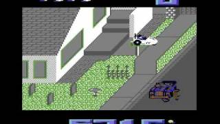 Paperboy C64 Perfect Delivery Level 1