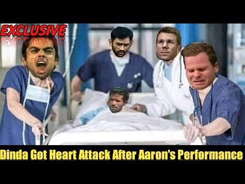 Ashok Dinda Got Heart Attack After Varun Aaron's Performance against KKR   Dinda Academy KKR vs RR  