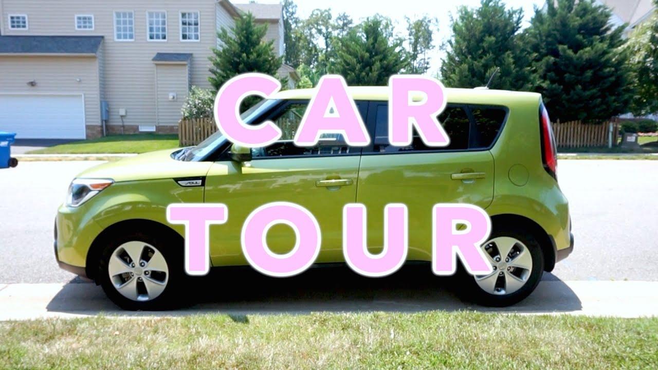 Car Tour 2017 Green Kia Soul