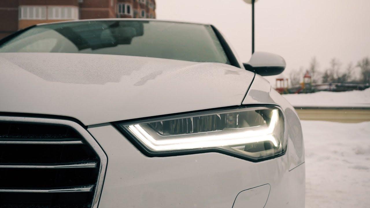 Стильная и дорогая Audi A6 C7