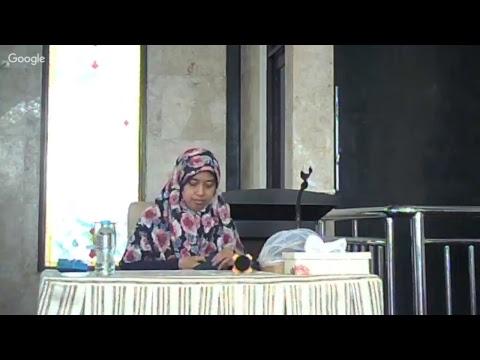 Ustadzah Nur Hamidah, L.C I Kisah Dahsyatya Lisan I Kajian Ummahat Al-Aqsha