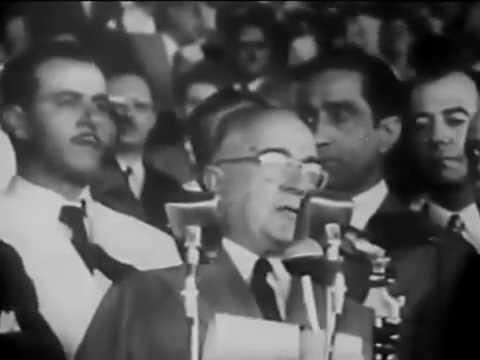 Discurso de Getúlio Vargas no Dia do Trabalho - YouTube