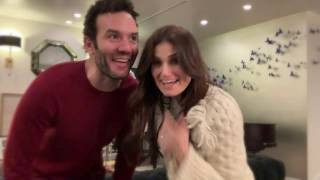 Idina Menzel - I'll Be Home for Christmas: The Movie with Aaron Lohr (Behind The Scenes)